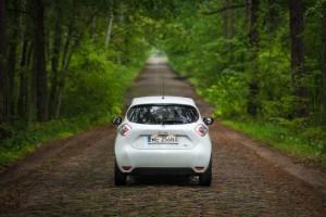 Renault Zoe tyl2